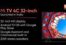 mi tv 4c 32 inch launched