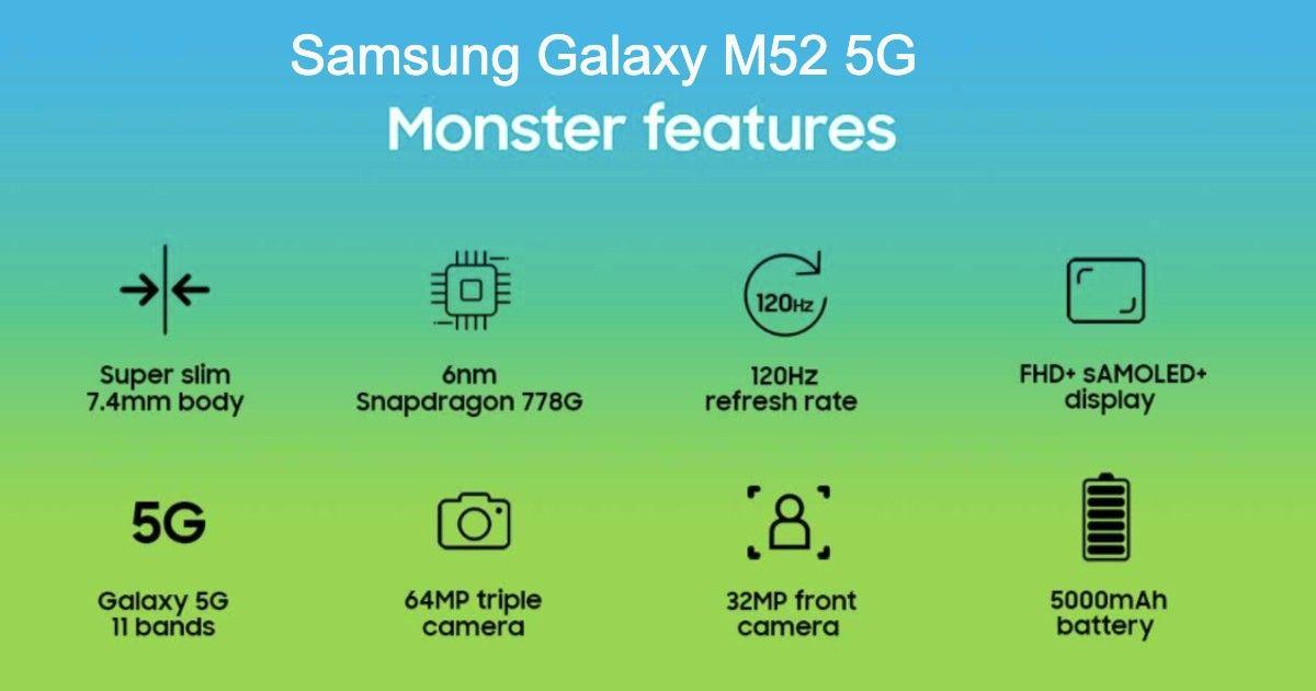 Galaxy M52