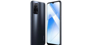 OPPO A55 4G render design 50mp triple camera punch hole display india launch